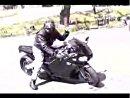 ヘリのエンジン積んだバイク
